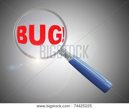 3D Magnifier Over Word Bug