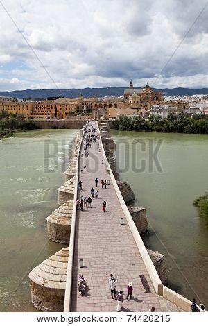 Roman Bridge (Puente romano de Córdoba). Cordova. Spa