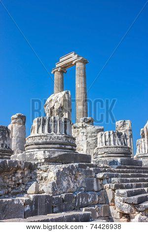 Ancient Temple Of Apollo