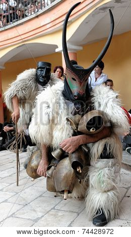 Masks Of Sardinia