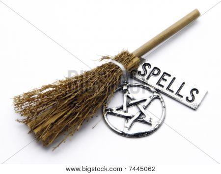 Witch Broom, Pentacle, Spells