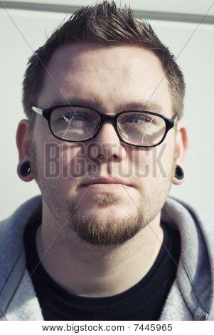 Confused Broken Glasses