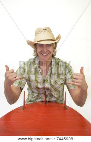 Cowboy Surfer