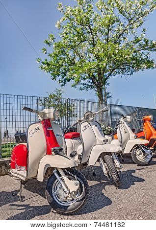 Vintage Scooters Laambretta