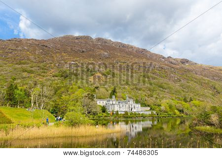 Kylemore Abbey In Co Galway