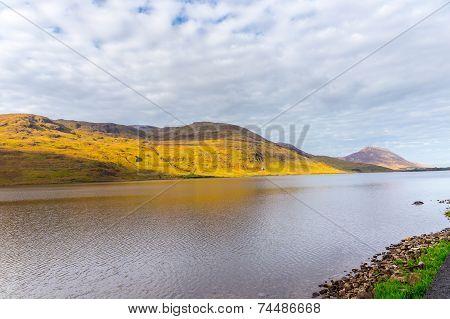 Idyllic Kylemore Lough In Connemara