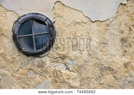 Old Destroyed Window