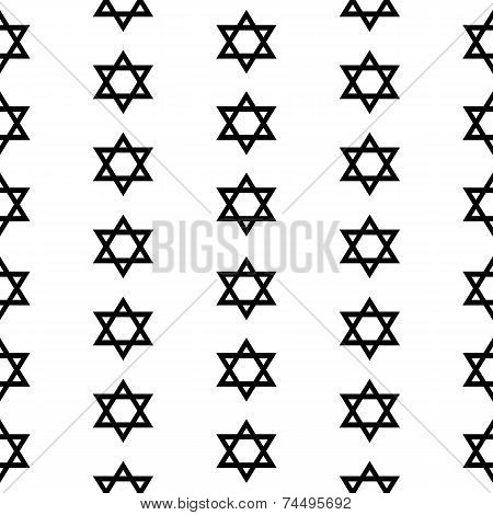 Magen David Seamless Pattern