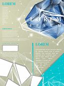 stock photo of priceless  - modern design for poster template with diamond element - JPG