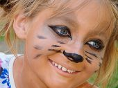 picture of meerkats  - Muzzle meerkat masquerade glasses on drawing the face child - JPG