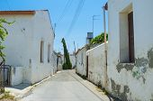 stock photo of larnaca  - The old residential districts of Larnaca located not far from the sea and tourist area Cyprus - JPG