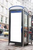 Phonebox Advertising Space
