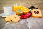 foto of breakfast  - Healthy breakfast  - JPG