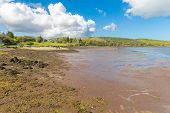picture of galway  - View of and Rosleague in Connacht in County Galway - JPG