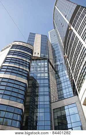 Building Of Hilton Kyiv Hotel