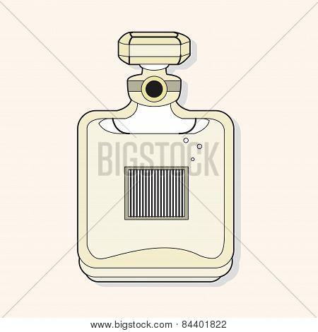 France Perfume Theme Elements Vector,eps