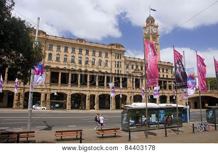 Sydney, Australia.. - December 17, 2014: The Building's Central