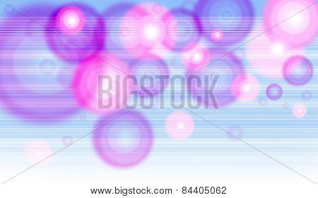 Blur Circle Line Pink Blue