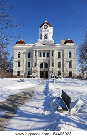 Old Courthouse In Carthage