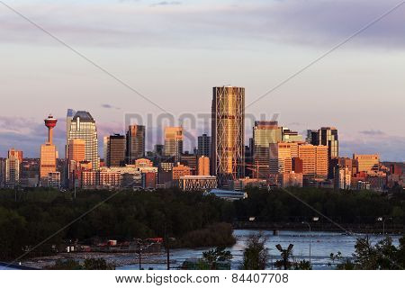 Panorama Of Calgary