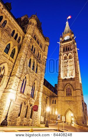 Peace Tower - Ottawa, Ontario, Canada