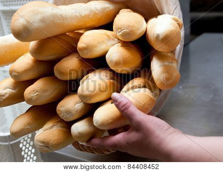 Rack With Baguettes