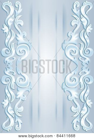 Abstract Ornamental Borders
