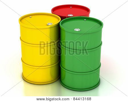 Chemical Variegated Barrels