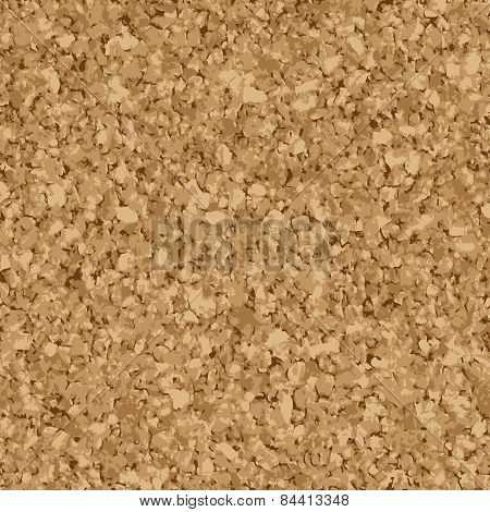 Seamless Cork Background