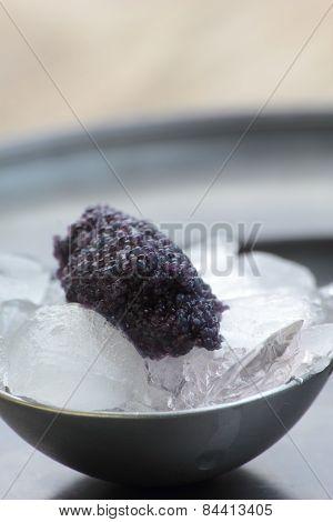 Black caviar.