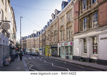 Regent Street, Clifton, Bristol, Uk