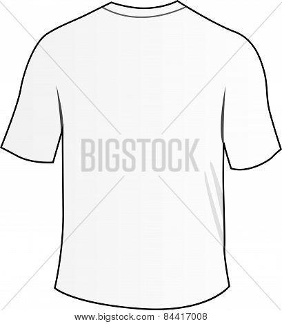 White Back Tee Shirt