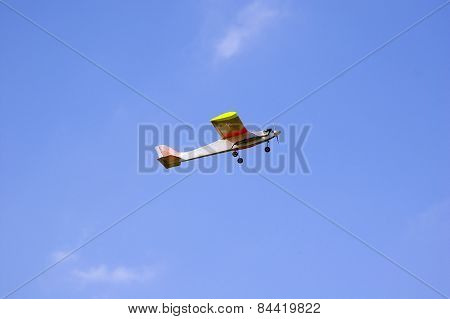 Radio Controlled Model Airplane