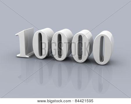 Number 10000
