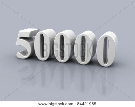 Number 50000