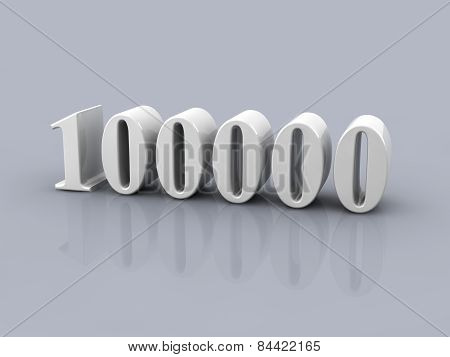 Number 100000