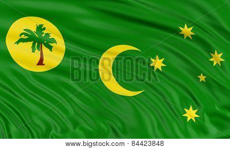 3D Cocos Islands flag