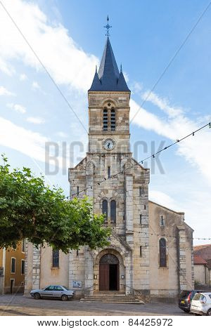Church In Limogne-en-quercy In France