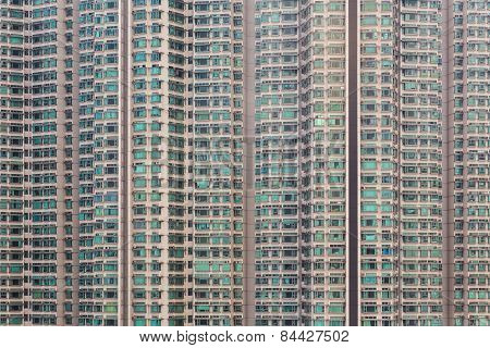 Apartment windows block