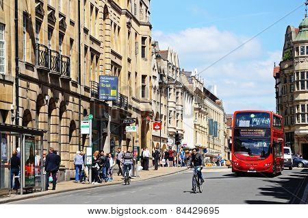 St Aldates Street, Oxford.
