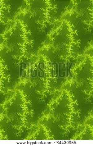 Seamless Fractal Green