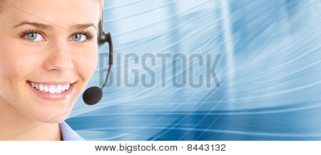 Call-Center. Kunden-Support. Helpdesk.