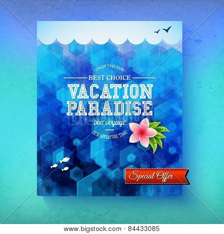 Special offer for a Vacation Paradise cruise