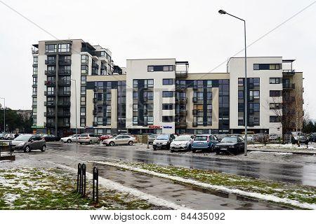 Vilnius City Houses In Zirmunai District Nord City