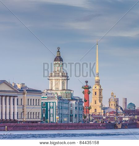 The Center Of St. Petersburg, Russia