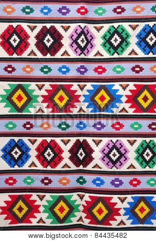 The Traditional Carpet From City Kotel, Bulgaria