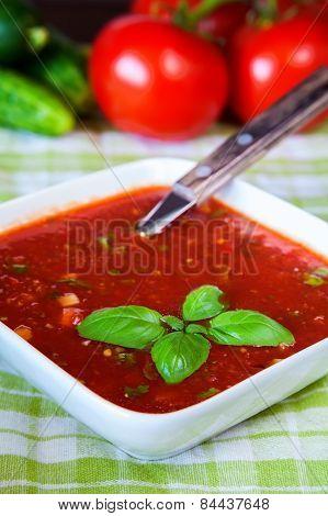Cold Spanish Tomato Soup