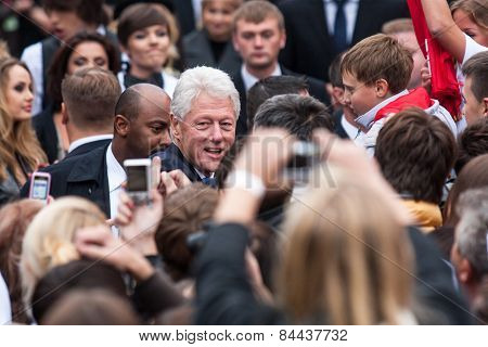 Us President Bill Clinton