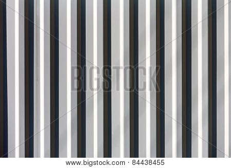 Grey Grooved Metal Background