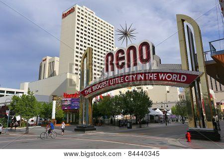 Reno, Usa - August 12: